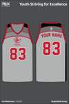Youth Striving for Excellence Basketball Jersey - rS2LbP
