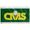 Central Panthers Basketball Flag