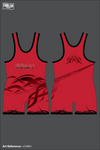 Red Roots Wrestling Men's Singlet - v7cMrJ
