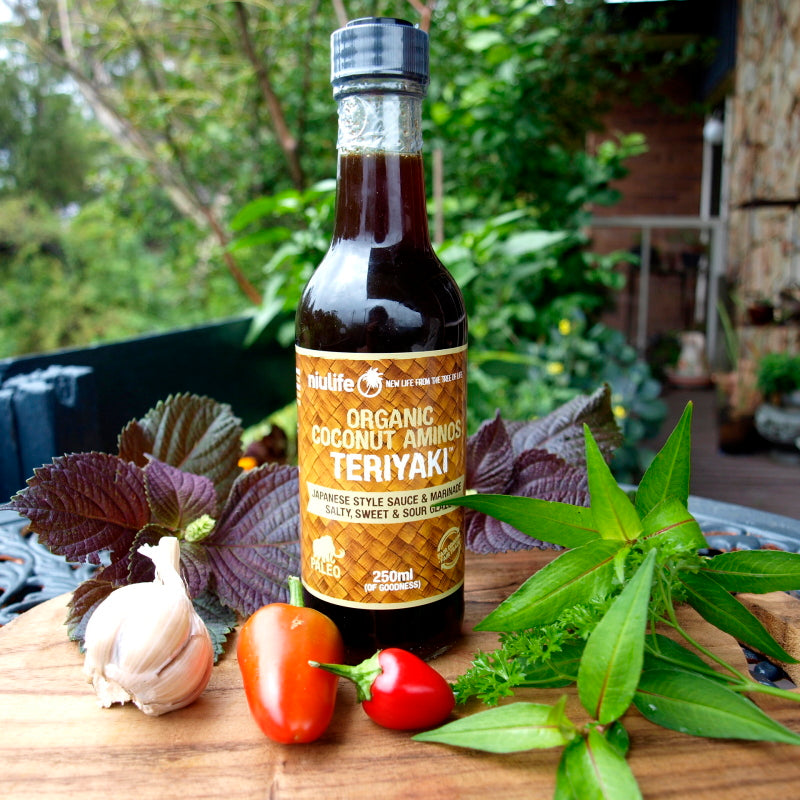 organic coconut teriyaki sauce  250ml