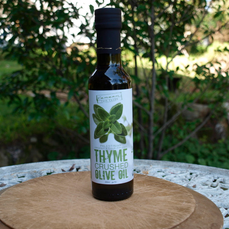 olive oil thyme infused SOLD