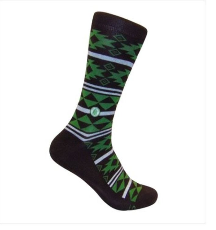 trees fairtrade cotton socks