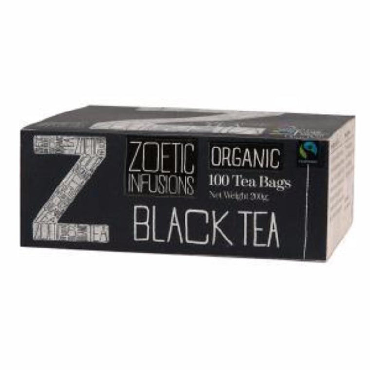 Zoetic Black Fairtrade and Organic tea x100