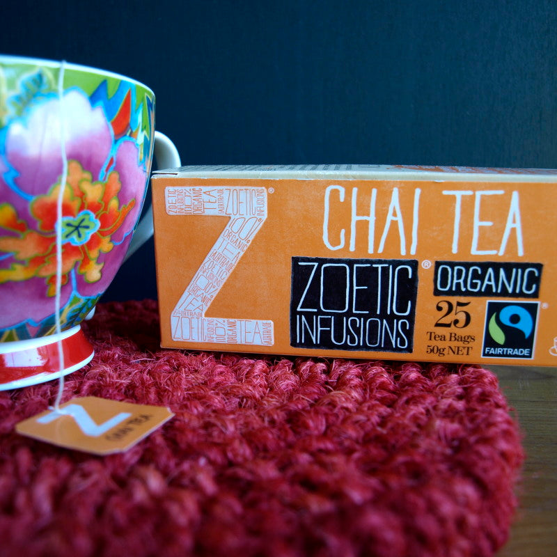 Chai Organic & Fairtrade 25 tea bags