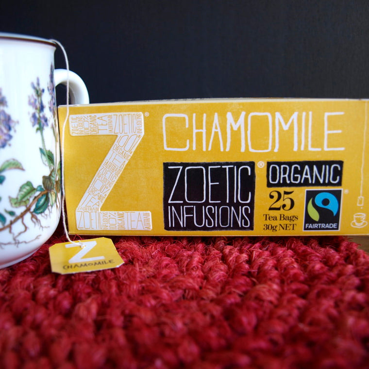 Chamomile Fairtrade & Organic tagged tea - 25
