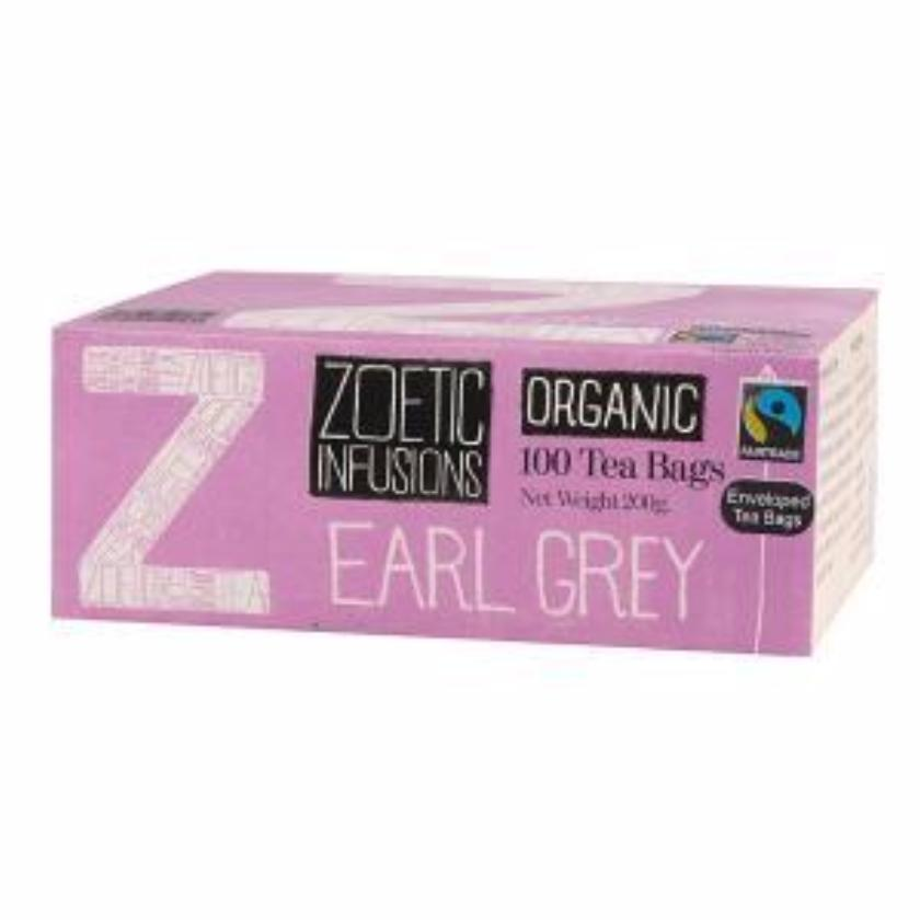 Earl Grey Organic  Fairtrade 100 sachet teas