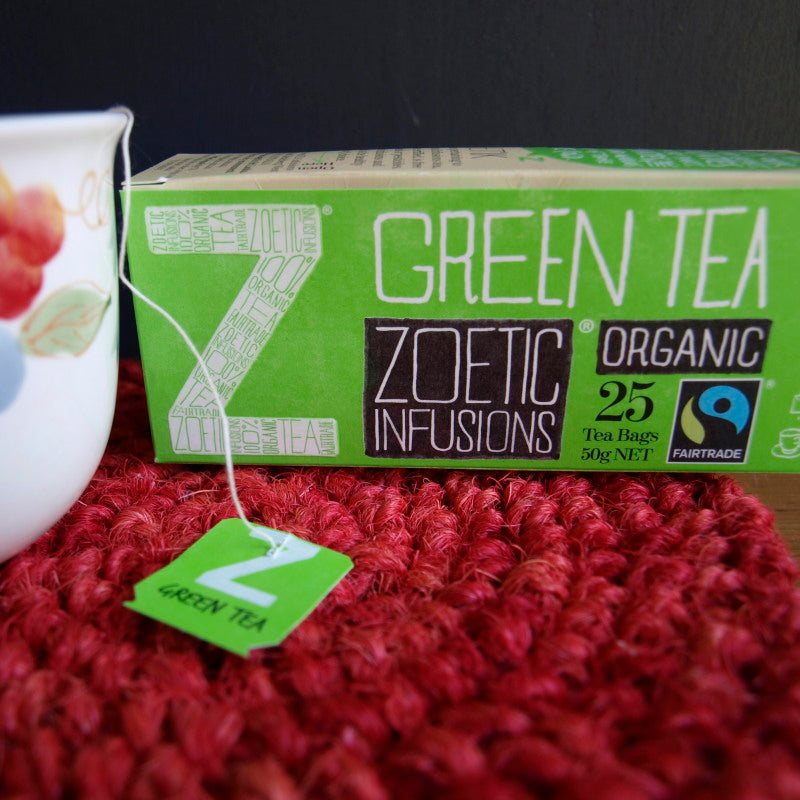 Green Tea Organic & Fairtrade tagged 25