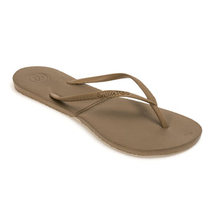 Salvatos flip flops golden