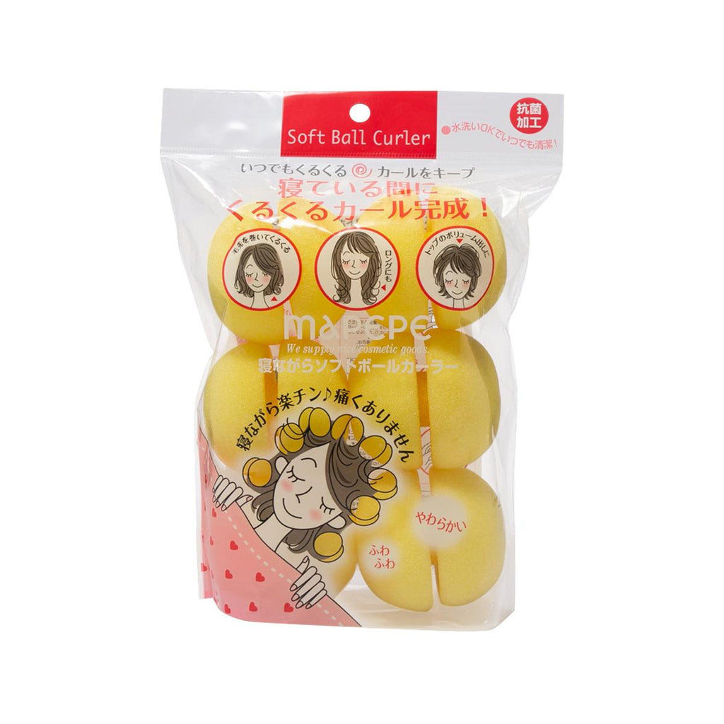 Mapepe Soft Ball Curler While Sleeping (6pcs)