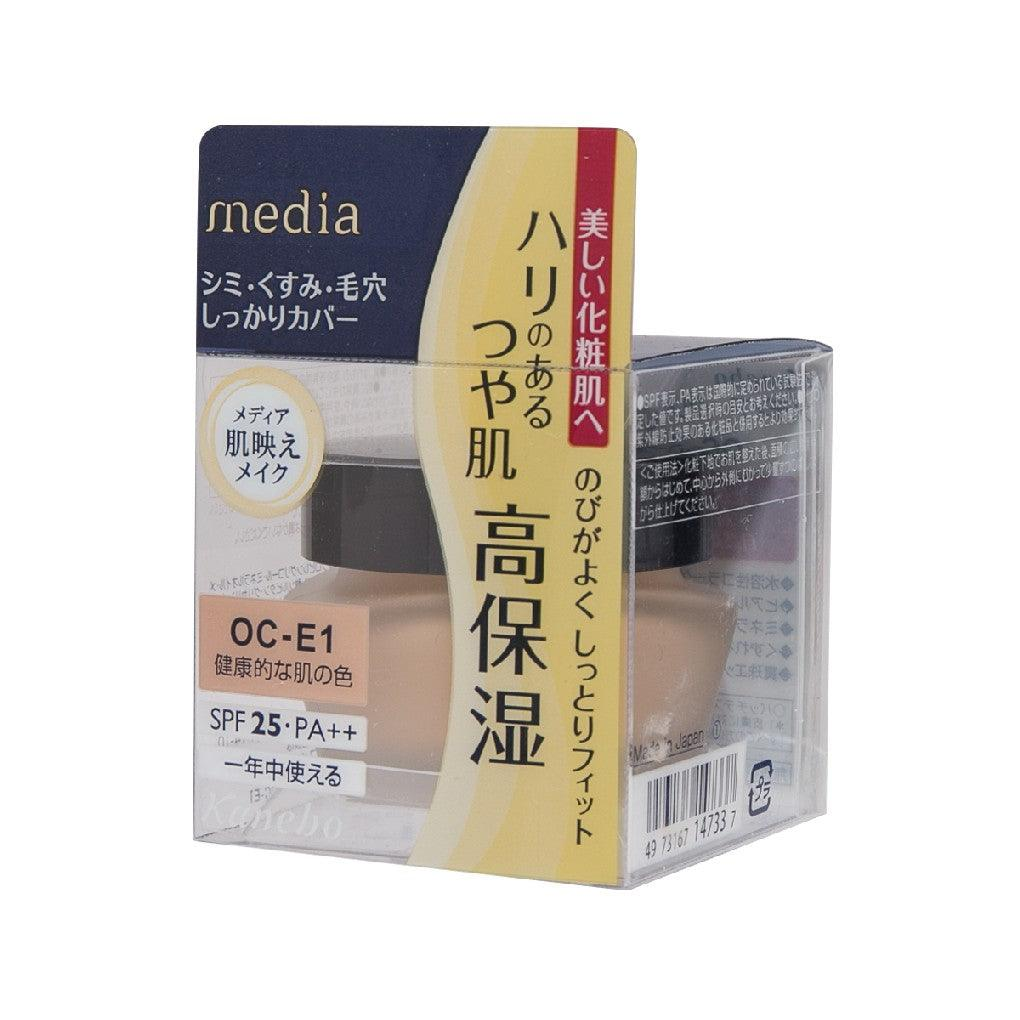 MEDIA Cream Foundation Oc-E1 25g