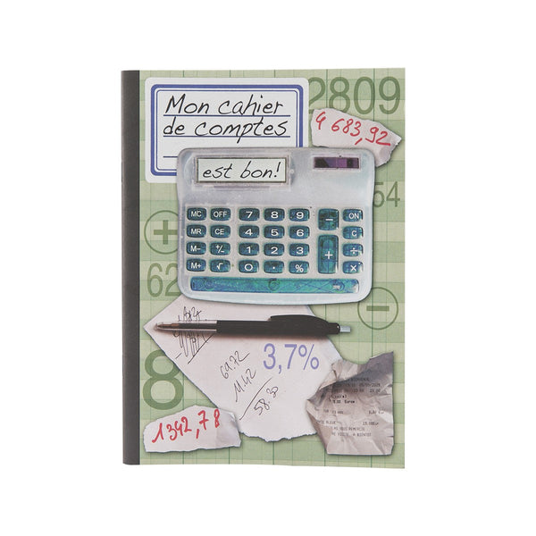 French A5 Notebook - Caculator