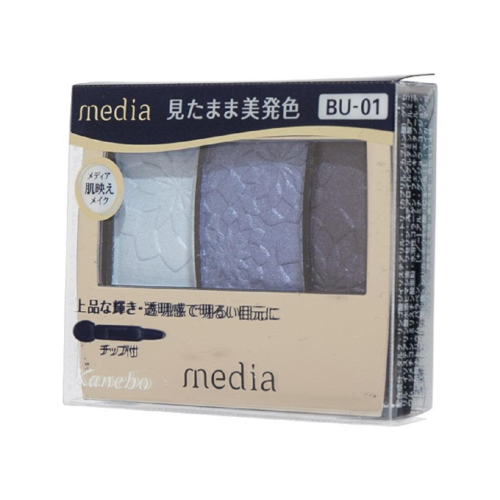 Media Gradate Color Eyeshadow BU-01 (3.5g)