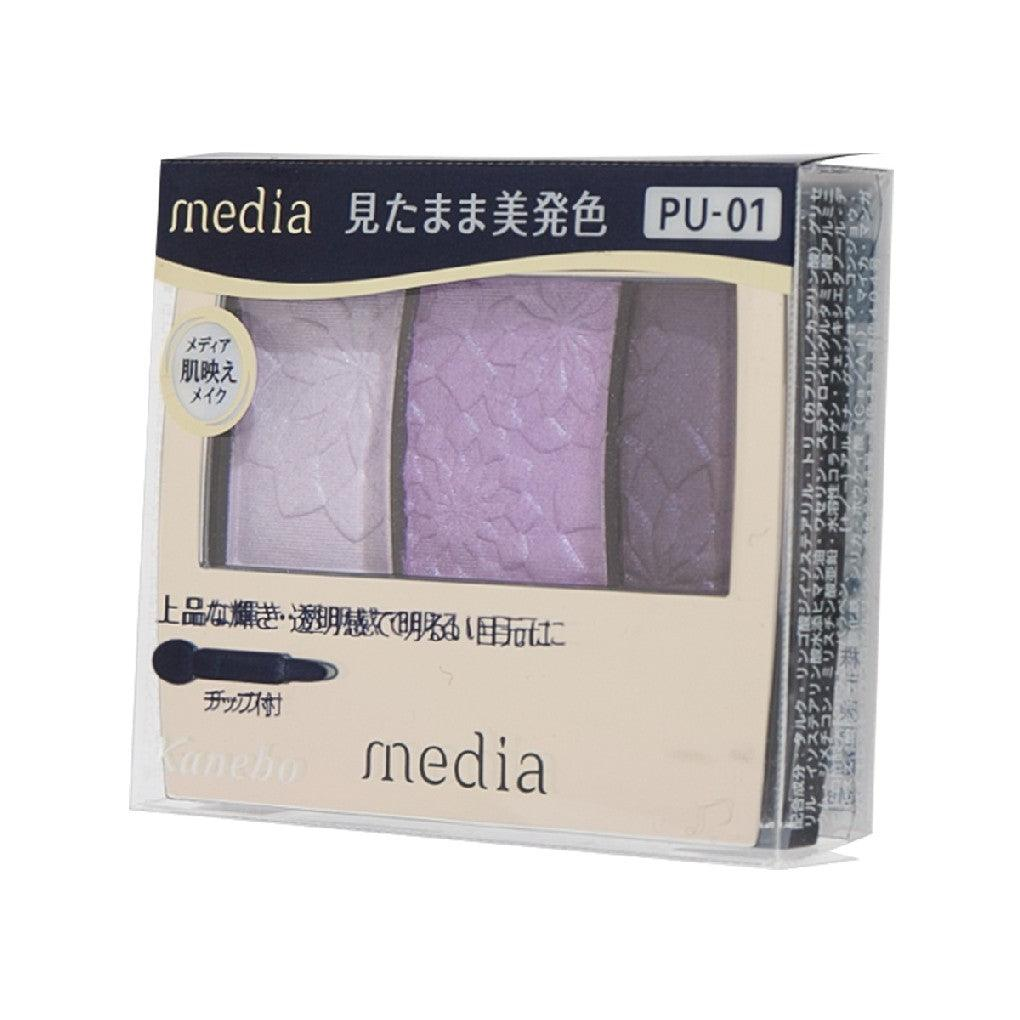 Media Gradate Color Eyeshadow PU-01 (3.5g)