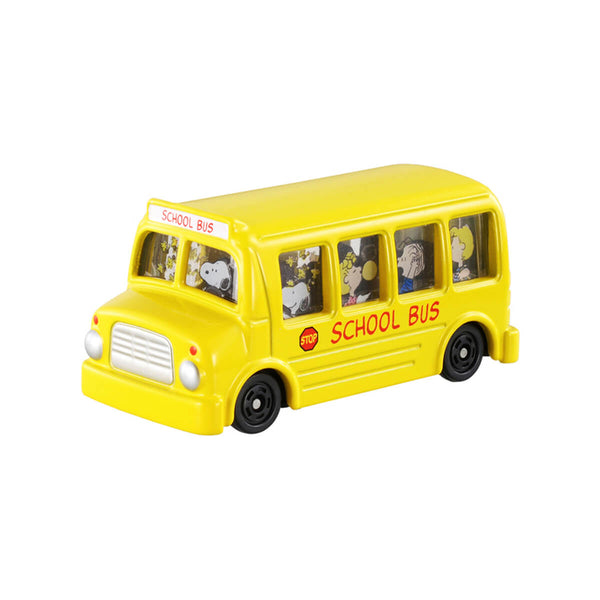 Tomica  Dream No.154-Snoopy School Bus