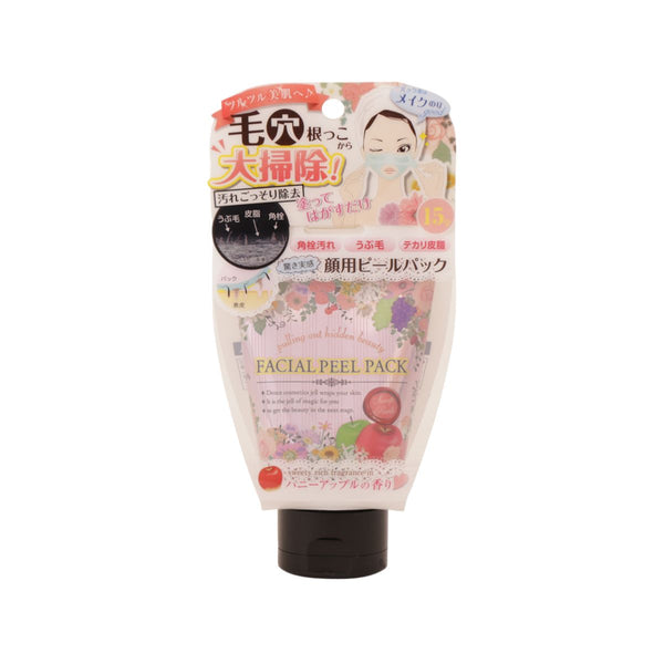 Mitsuwa Facial Peel Pack - Honey Apple Fragrance