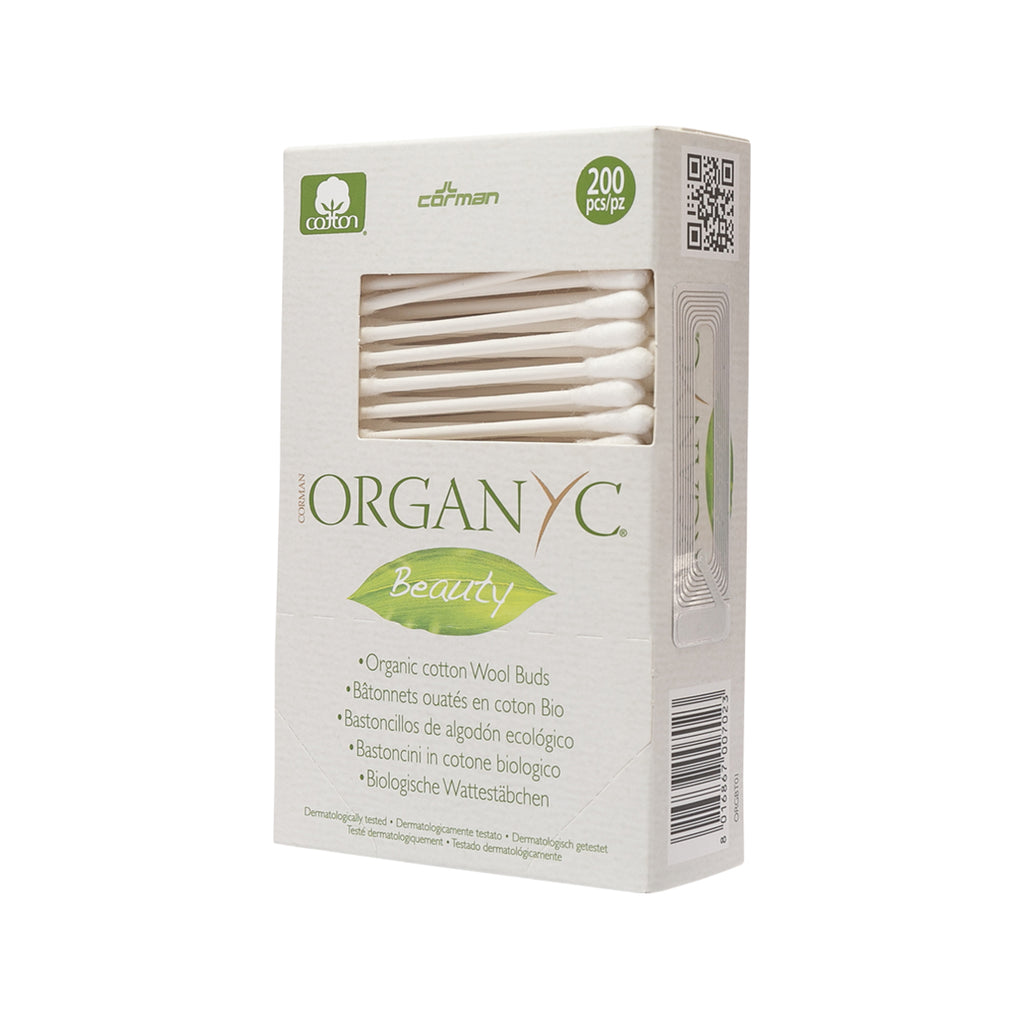 Organyc Organic Cotton Buds 200 pcs