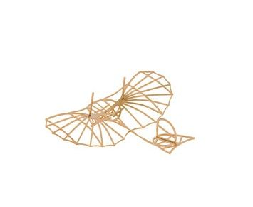 Aerobase Metal Puzzle - Lilienthal Glider 1894