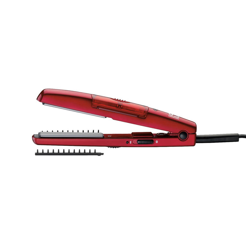 Vidal Sassoon 19mm Tourmaline  Ceramic Steam Straightener