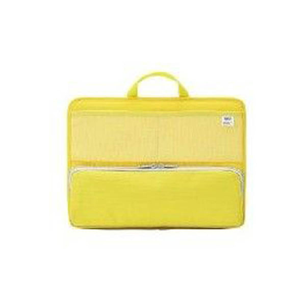 Lihit Lab A4 Horizontal Stand Pocket Yellow