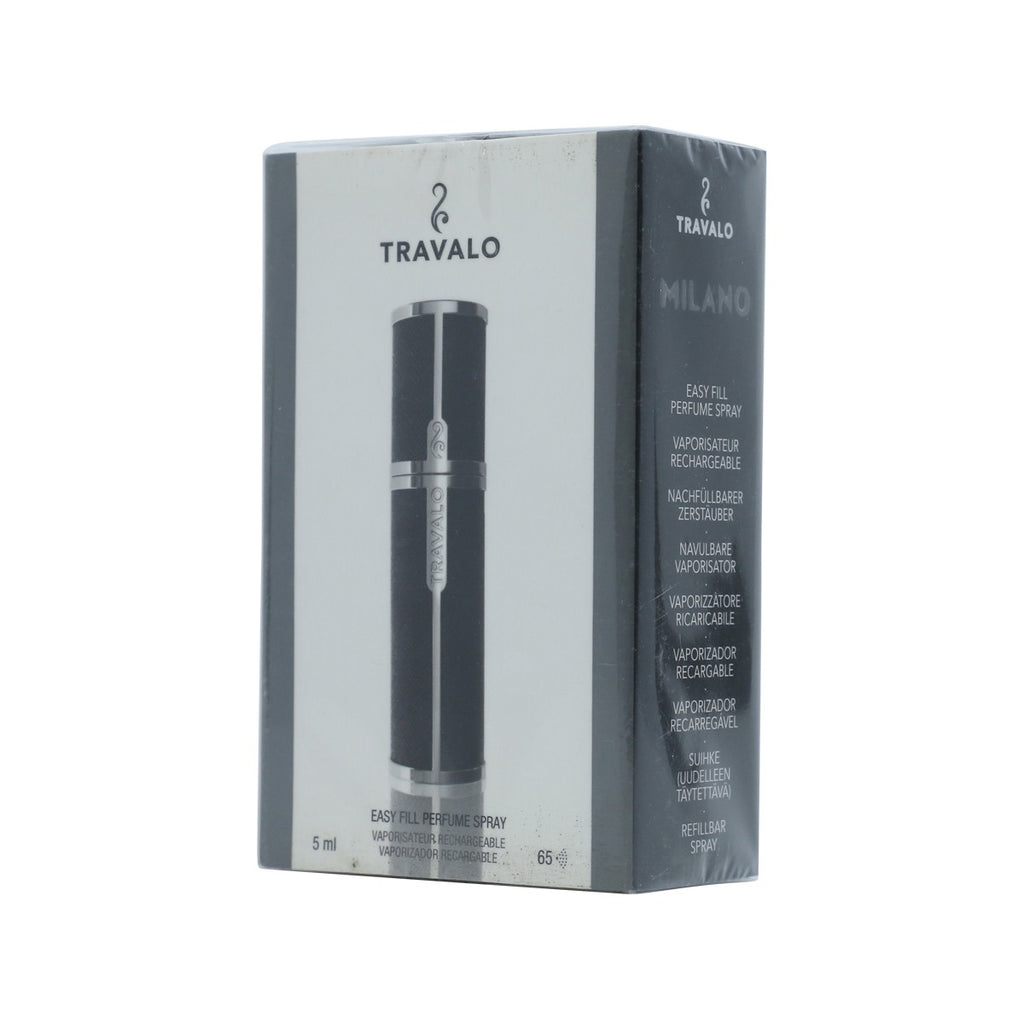 Travaloclassic Refill Perfume Atomizer Bottle - Black (5ml)