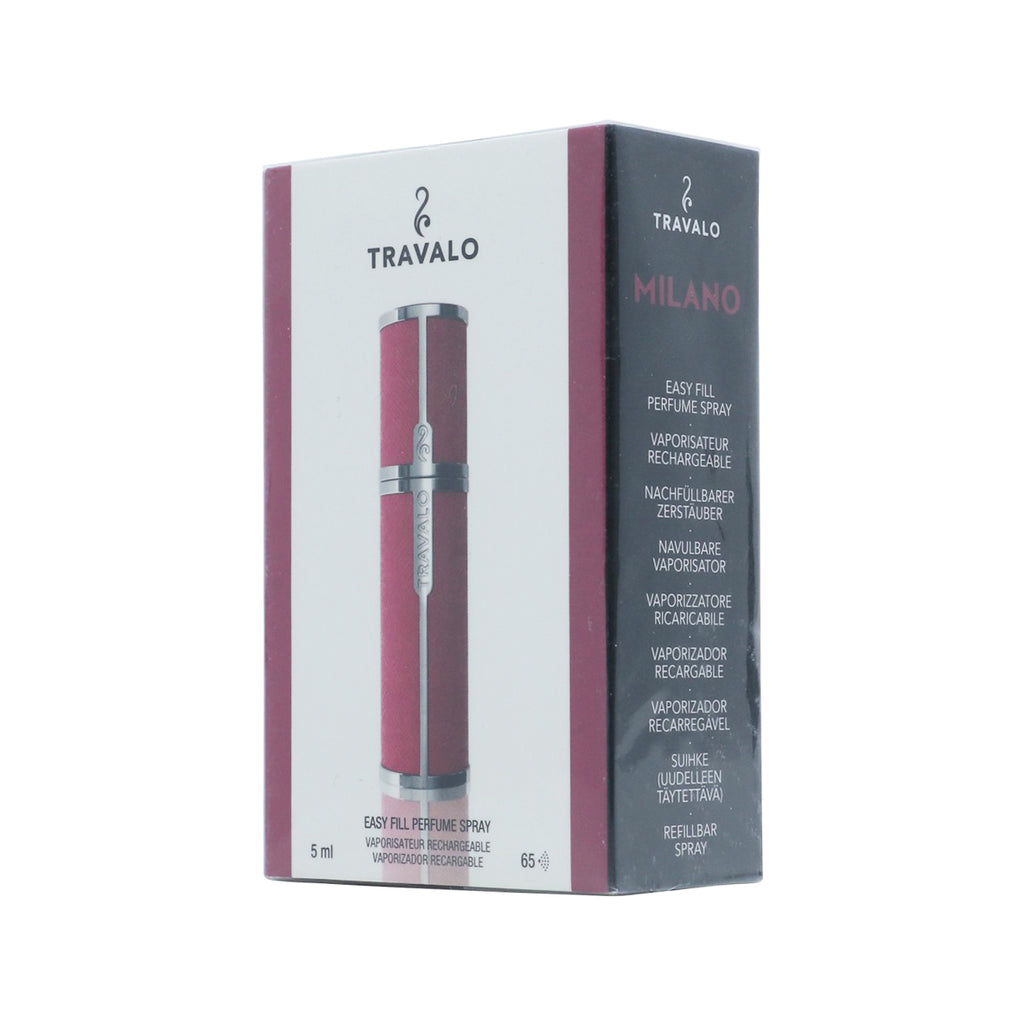 Travaloclassic Refill Perfume Atomizer Bottle-Hot Pink (5ml)
