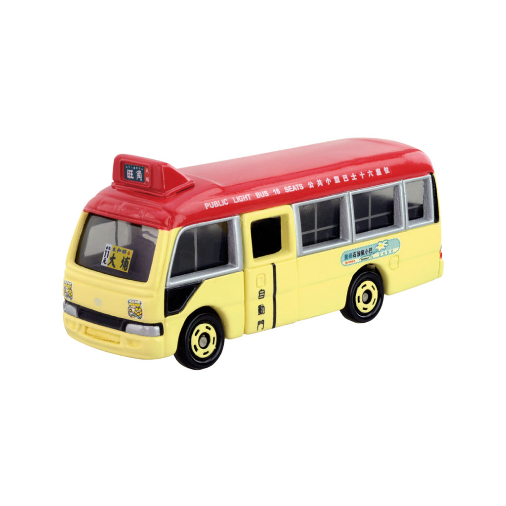Tomica  Hong Kong Public Light Bus-Red