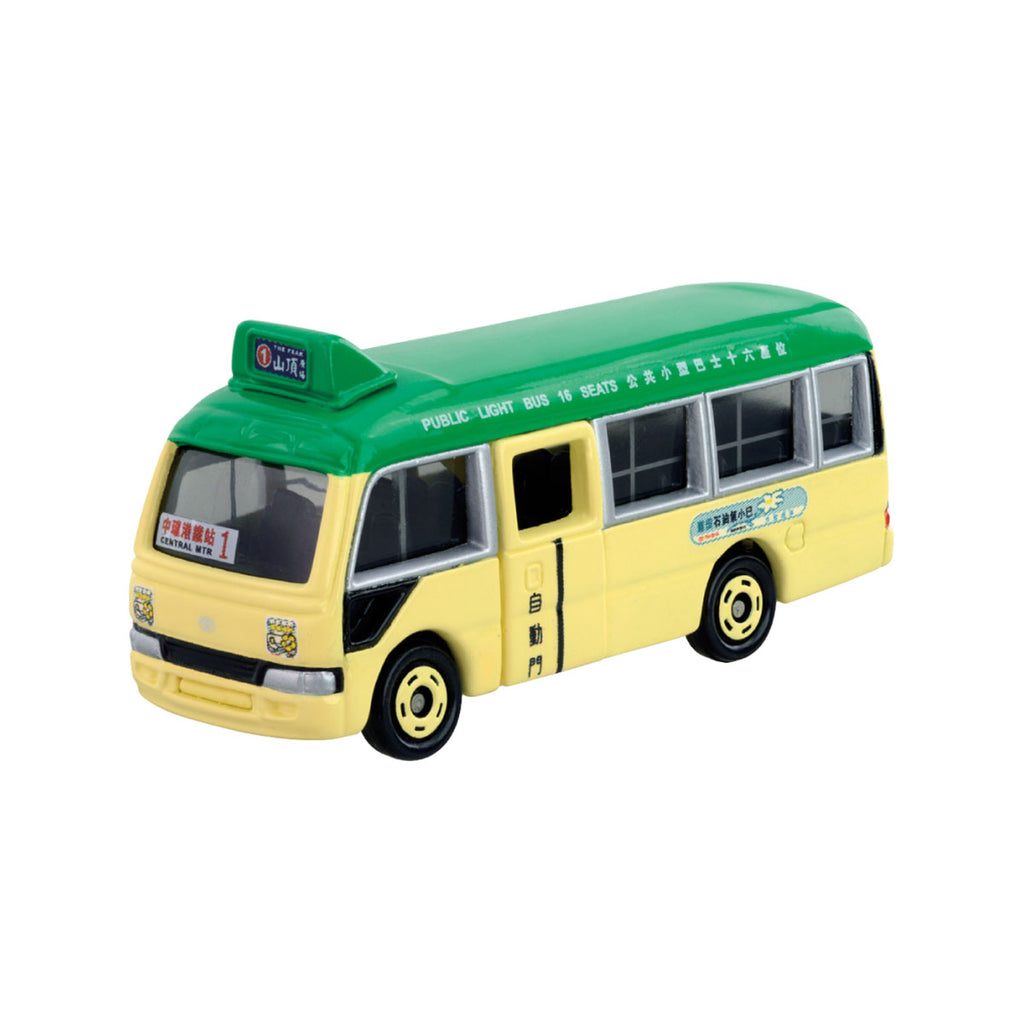 Tomica  Hong Kong Public Light Bus-Green