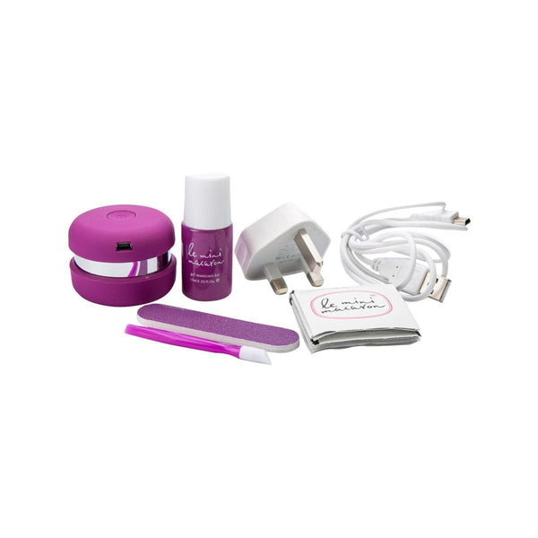 Le Mini Macaron Gel Manicure Kit - Grape