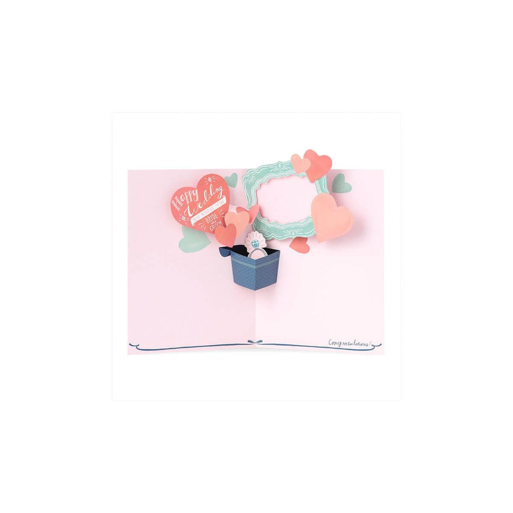 Iroha Pop Up Photo Board - Heart Wedding