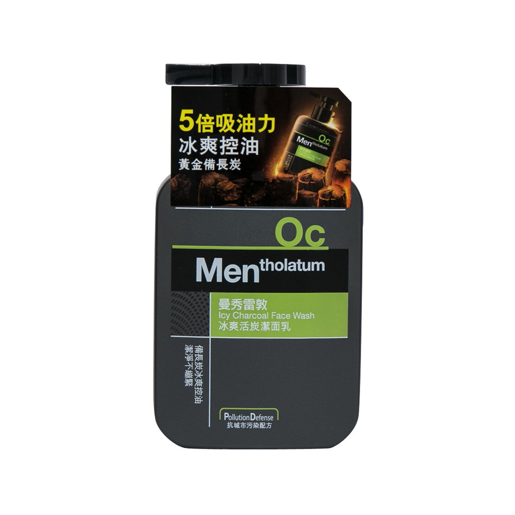 Mentholatum Icy Charcoal Face Wash 2017 150mL