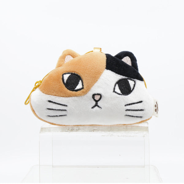 FEL CUTE AND SOFT CAT POUCH-BRN/BLK