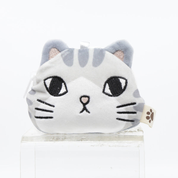 FEL CUTE AND SOFT CAT POUCH-GREY
