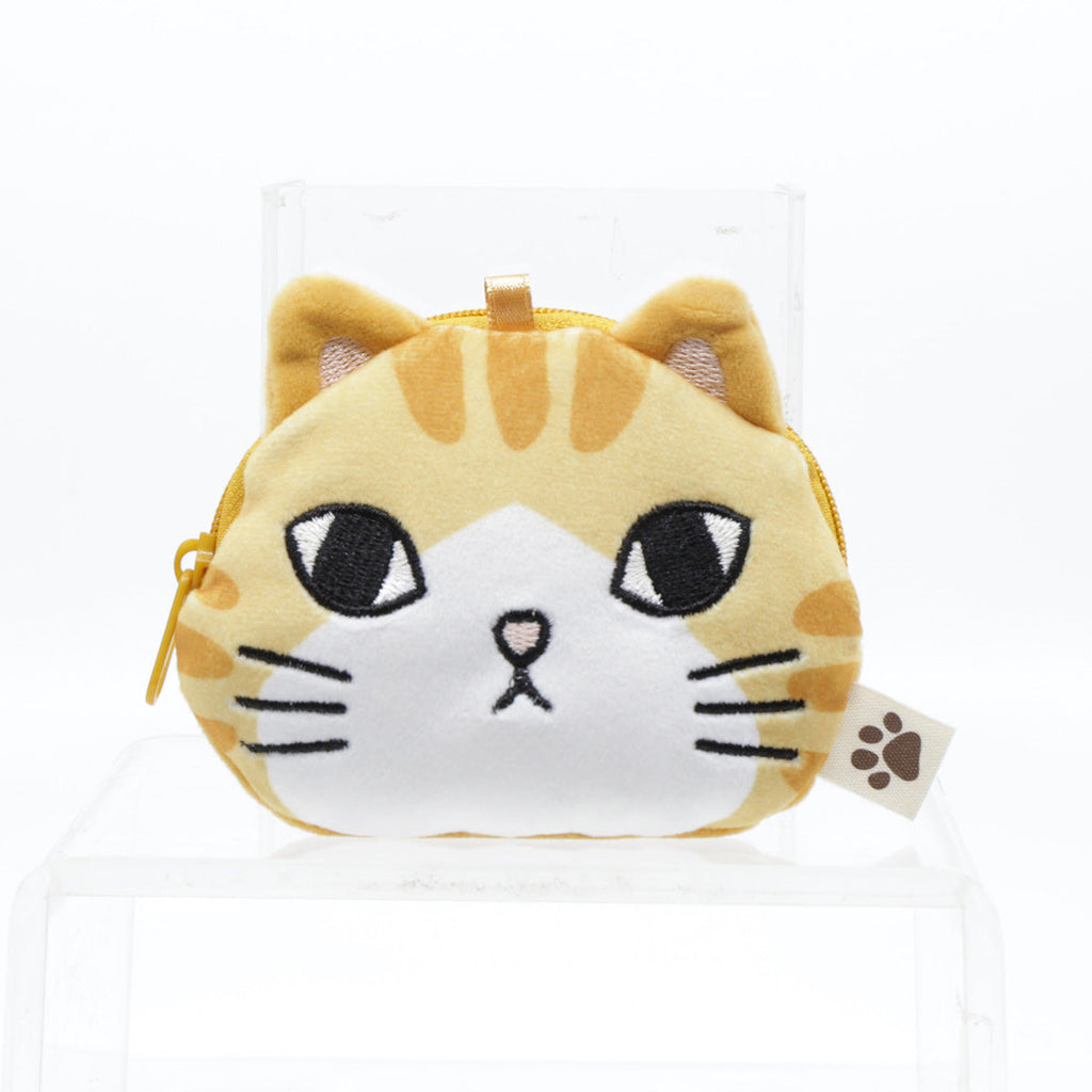 FEL CUTE AND SOFT CAT POUCH-BEIGE
