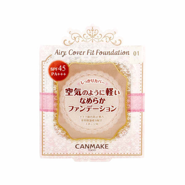 Canmake Airy Cover Fit Foundation (Refill)