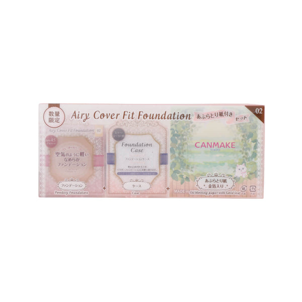 Canmake Airy Cover Fit Foundation