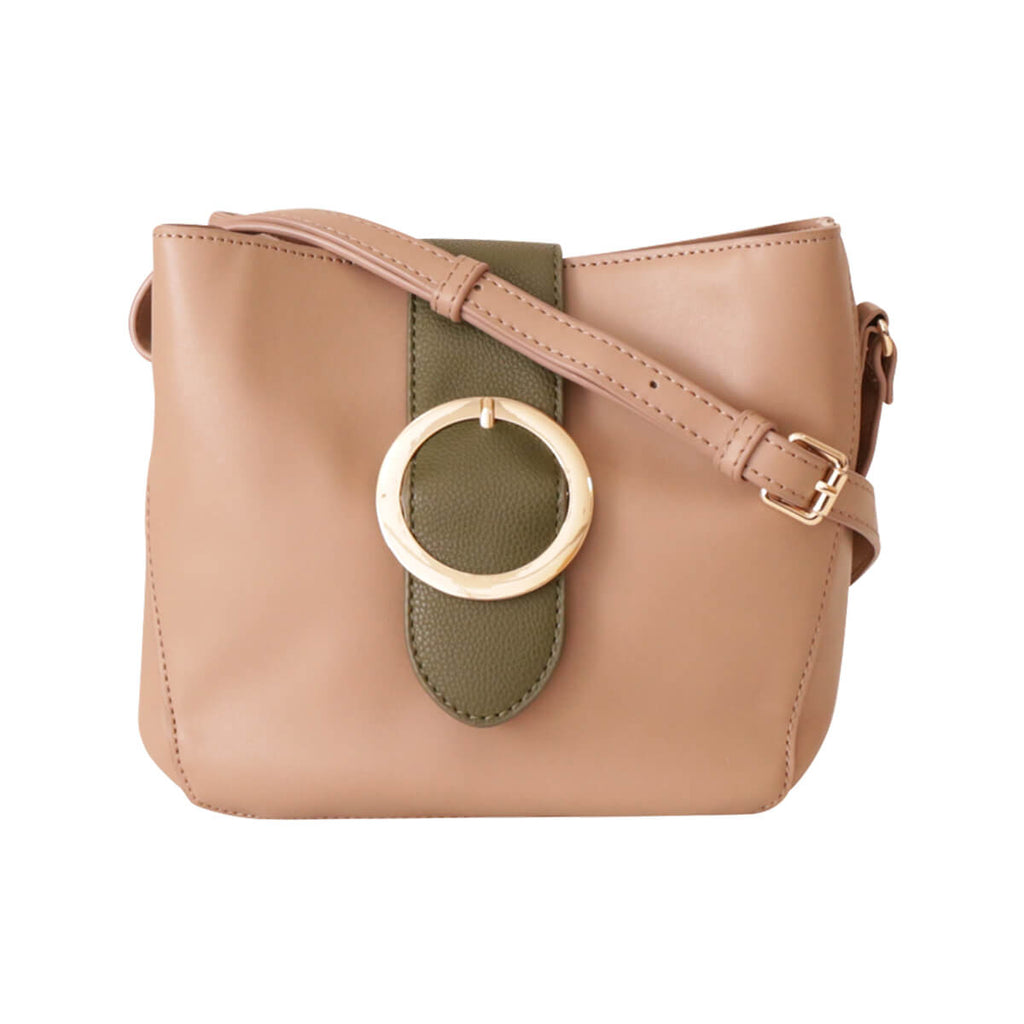 Trysil Belt Shoulder Bag - BEIGE