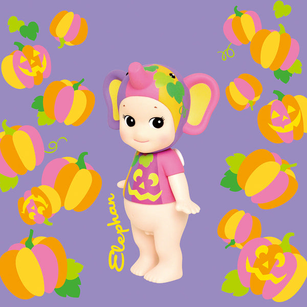Sonny Angel Artist Collection #11 Halloween Pumpkin Elephant