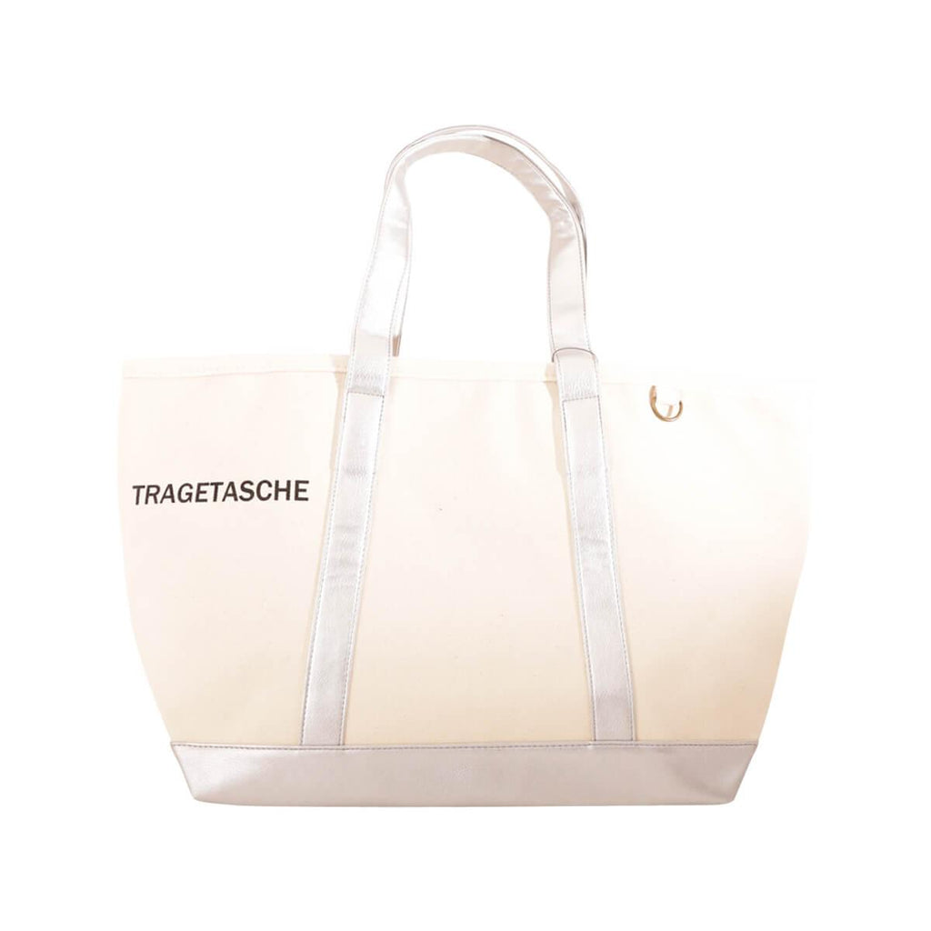 Hemings Tote Bag-SILVER