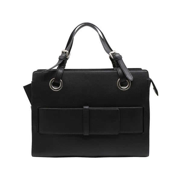 LOG-ON Design Award Folder Hand Bag-BLACK