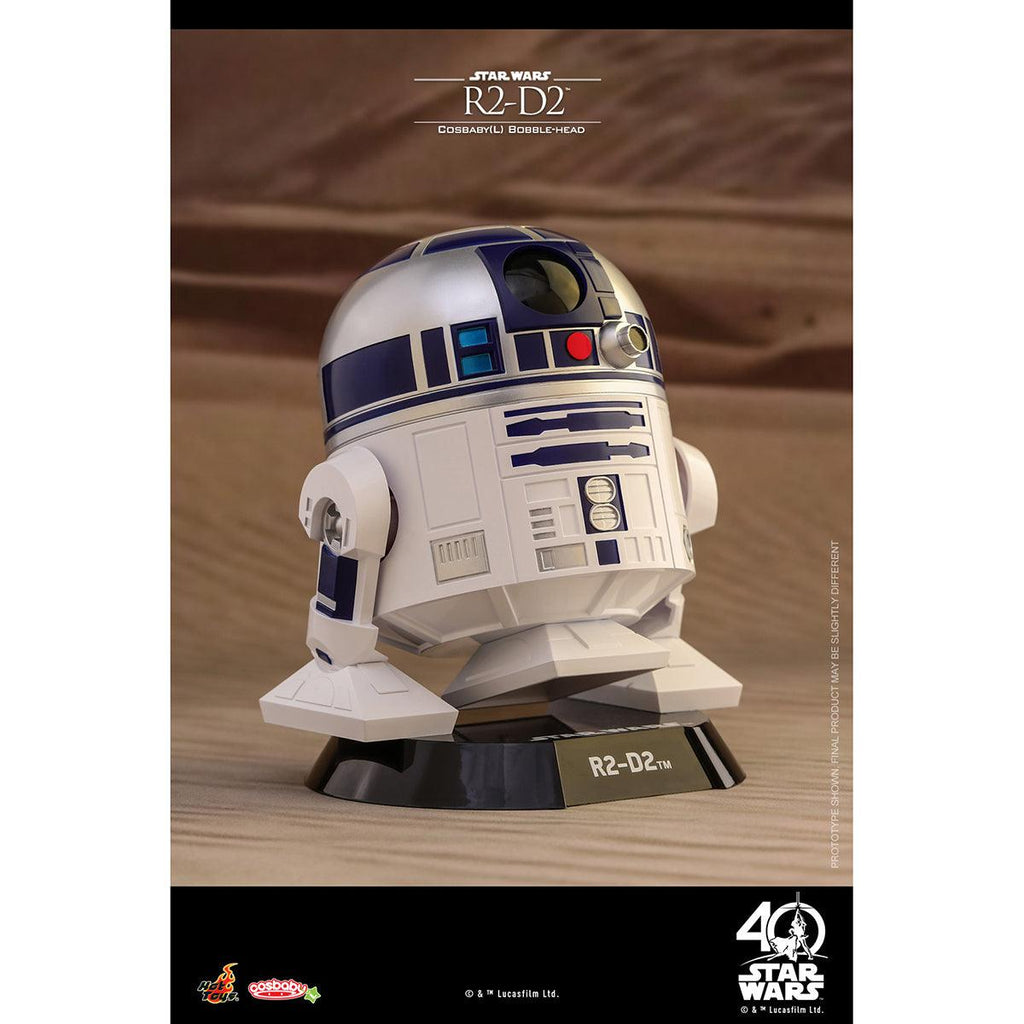 Hot Toys R2-D2 COSBABY (L) Bobble-Head