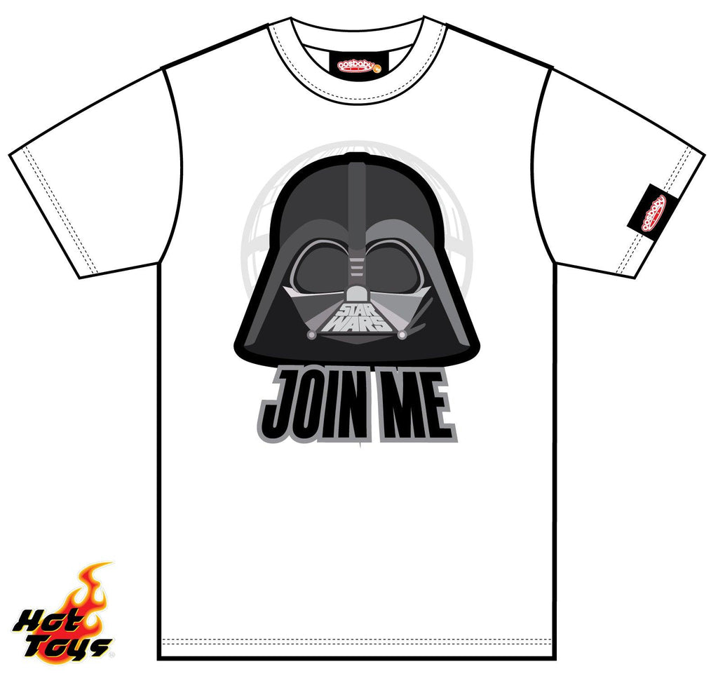 Hot Toys Join Me Darth Vader COSBABY Tee M