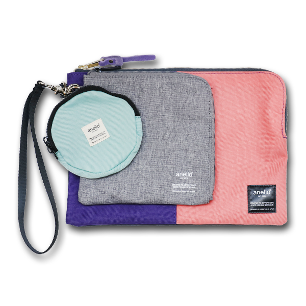 Anello AT-S0151C Pouch Set - PINK