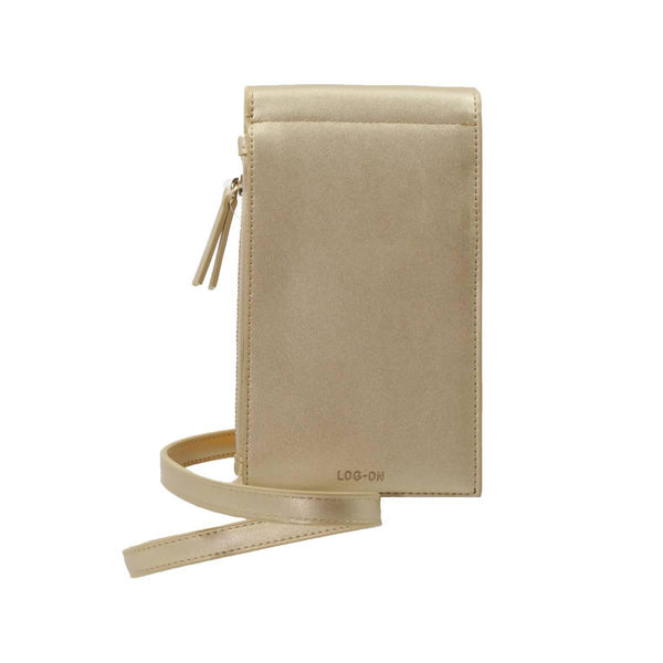 BRIGHTON PU PHONE SHOULDER - GOLD