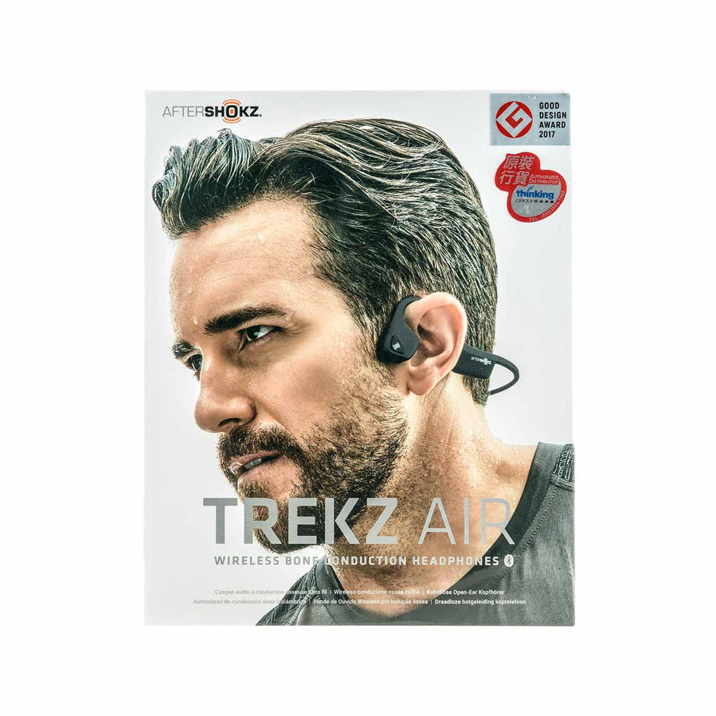 "AfterShokz ""TREKZ AIR"" Bone Conduction Earphone gray"