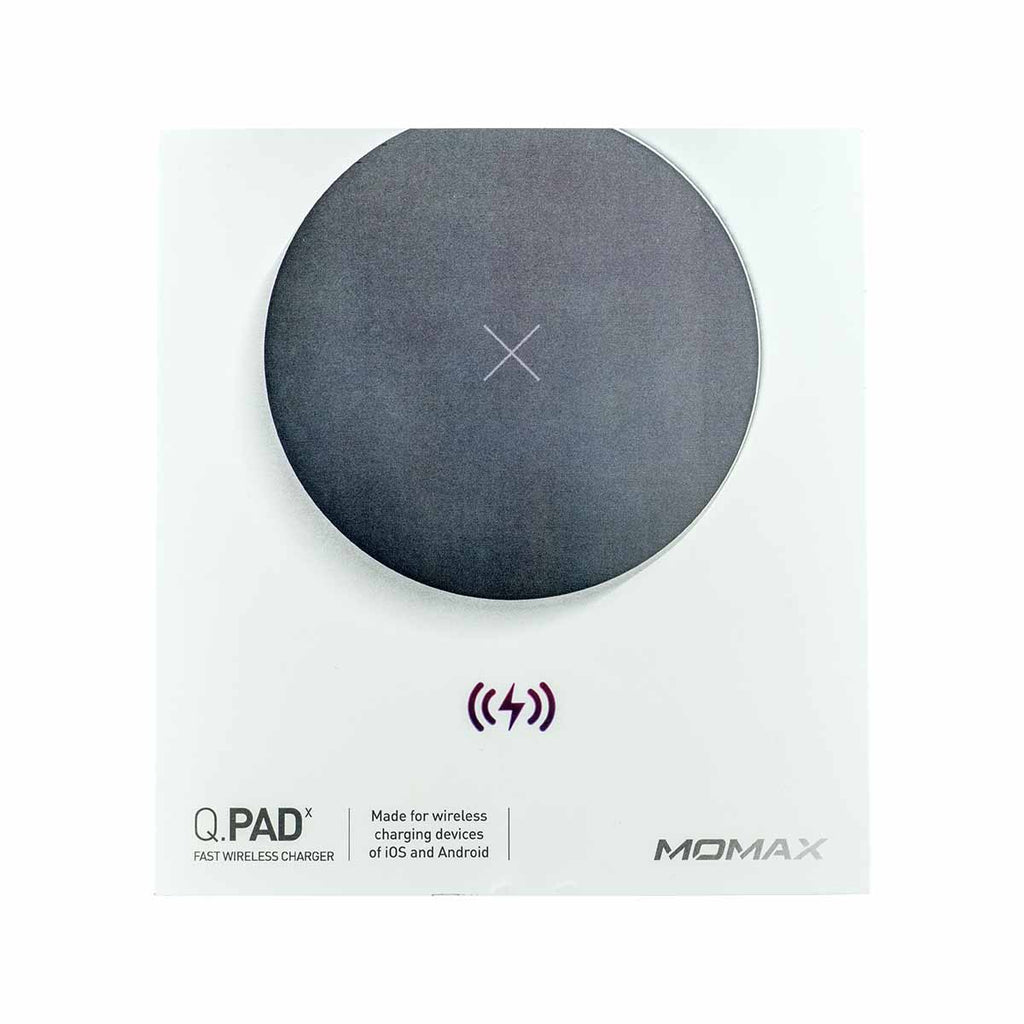 Momax Q. Pad X Fast Wireless Charger Black