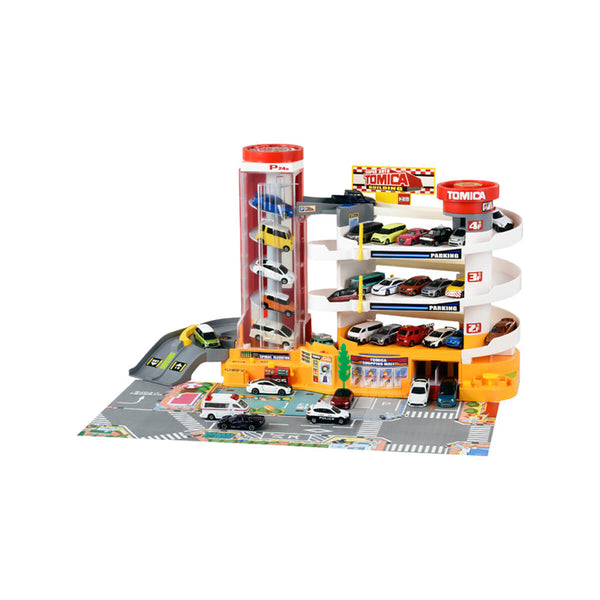 Tomica  World New Super Auto Building