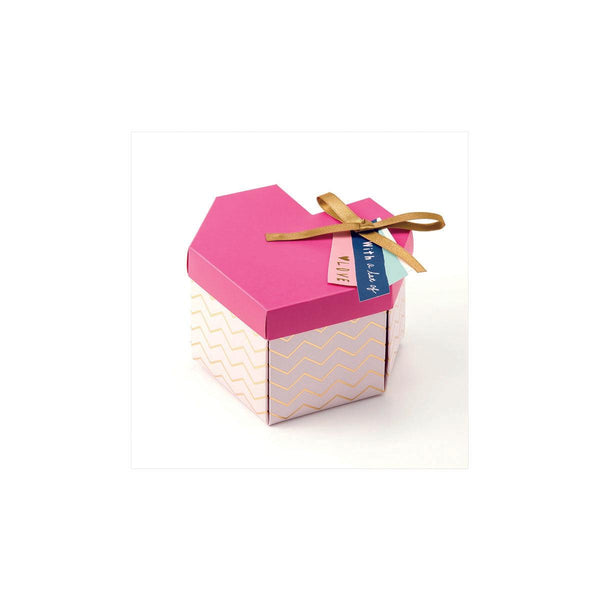 Iroha Box Album Heart Pink