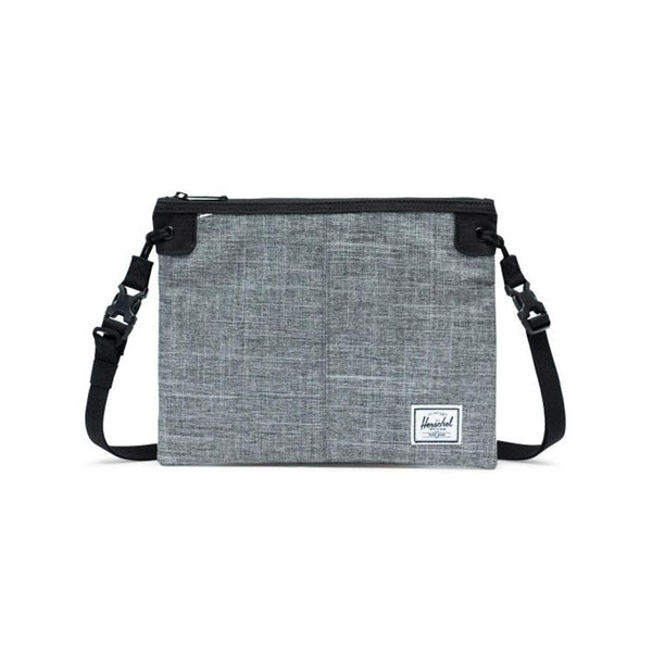 HERSCHEL Alder Shoulder Bag-Raven Crosshatch