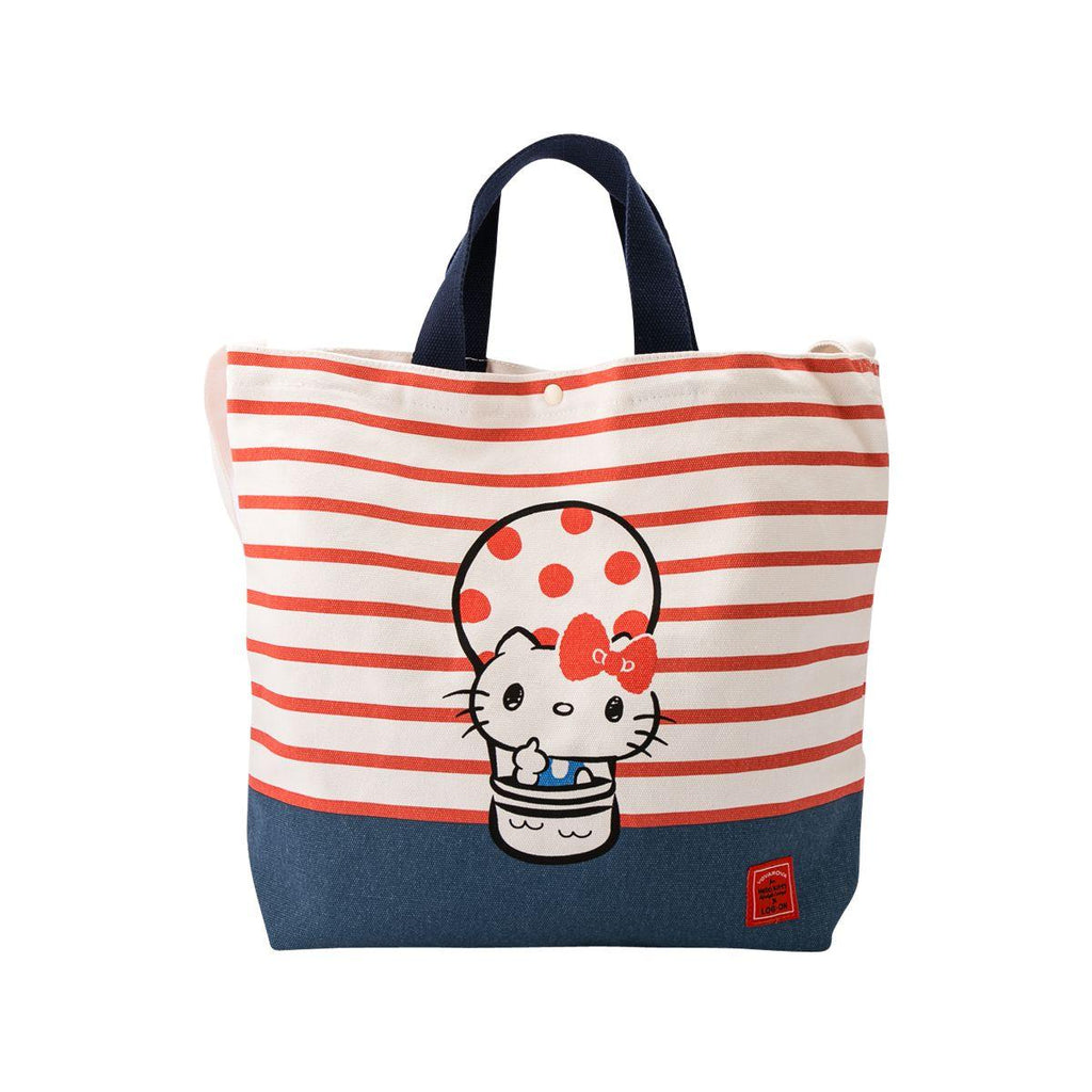 Hello Kitty Canvas Tote - Helium Balloon