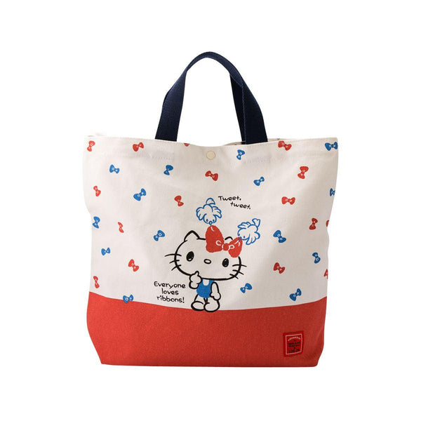 Hello Kitty Canvas Tote - Ribbon